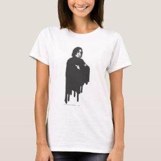 Severus Snape ärmar korsad B-W Tshirts
