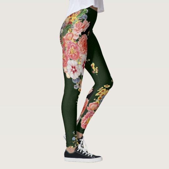 Sevilla blommigt leggings