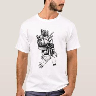 Sex beväpnade rop t shirts