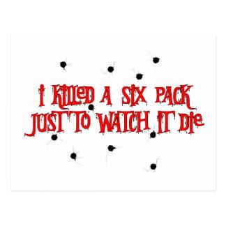 Sex-Packe mördare Vykort