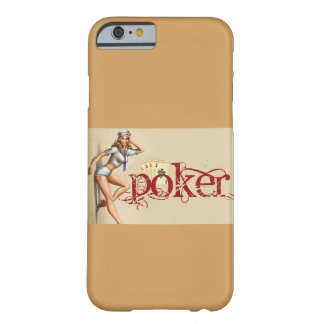 Sexig pokerkvinna barely there iPhone 6 skal