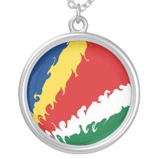 Seychellerna Gnarly flagga Anpassningsbara Smycken