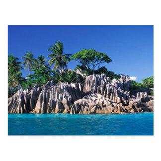 Seychellerna. Ilot St Pierre (nära Praslin Vykort