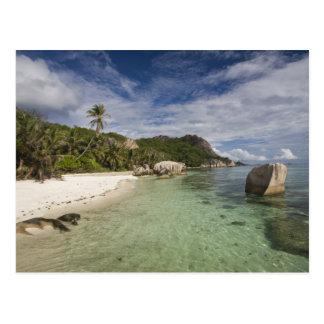 Seychellerna LaDigue ö, L'Union gods 2 Vykort