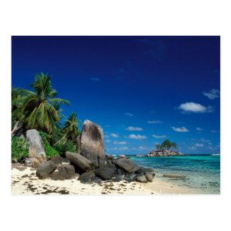 Seychellerna Mahe ö, Anse Royale Beach. Vykort