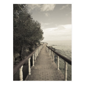 Seychellerna Praslin ö, Anse Bois de Stigning, Vykort