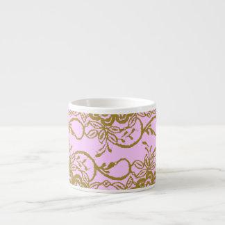 Shabby chicRosa-Guld mugg Espressokopp