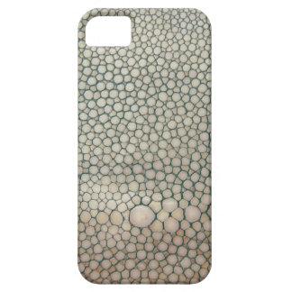 Shagreen beige iPhone 5 skydd