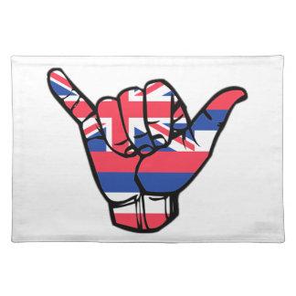 Shaka Hawaii flagga Bordstablett