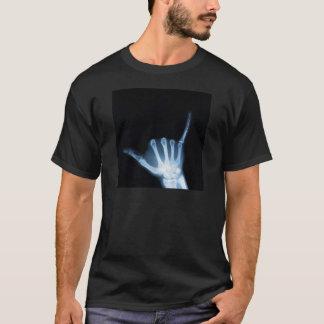 Shaka undertecknar röntgar (den lösa hängningen) t shirts
