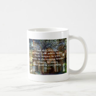 Shakespeare citationstecken om liv kaffemugg