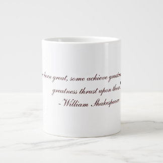Shakespeare citationsteckenkopp jumbo mugg