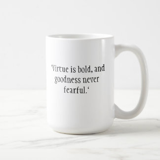 Shakespeare citationsteckenmugg kaffemugg