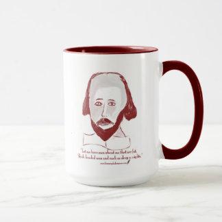 Shakespeare citationsteckenmugg mugg