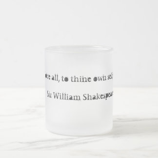 shakespeare mugg