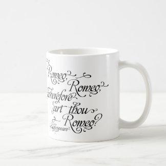 Shakespeare mugg-, Romeo och Juliet Kaffemugg