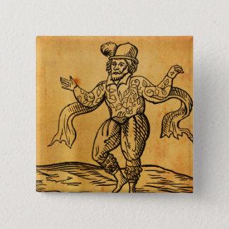Shakespeare ska den Kempe träsnittet kvadrerar Standard Kanpp Fyrkantig 5.1 Cm