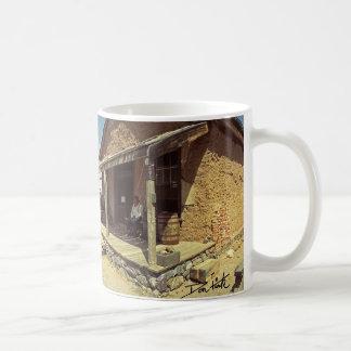 Shakespeare spökstad kaffemugg