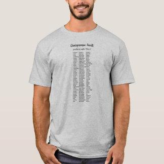 Shakespearean förolämpningar tshirts