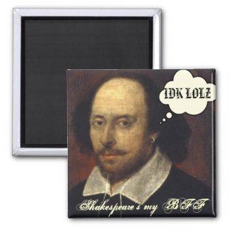 Shakespeares min BFF SMS Magnet