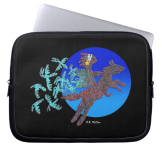 Shamanssökanden Laptop Sleeve