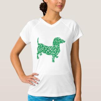 Shamrock Doxie T-shirts