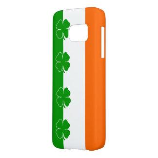 [Shamrockflagga för irländsk pride] Galaxy S5 Skal
