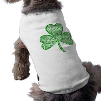 Shamrockhund tröja långärmad hundtöja