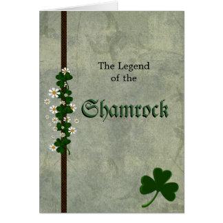 Shamrocks Hälsningskort