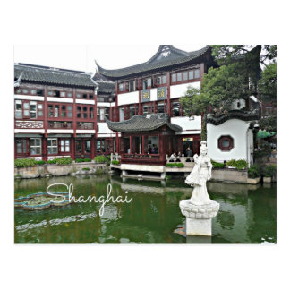 Shanghai china - gammal Town Vykort