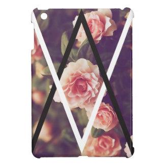 Shape för kärlek för triangel för Wellcoda iPad Mini Mobil Fodral