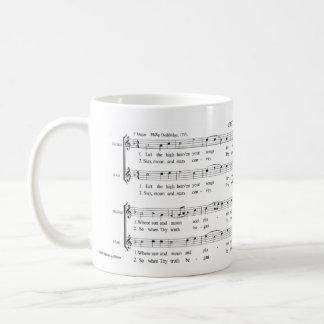 """Shapenotes för harpa """"för Chester"""" William Kaffemugg"""