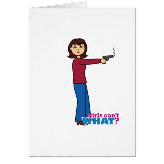 Sharpshooter Hälsningskort
