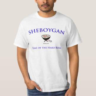 Sheboygan - som är hem- av den hårda tee shirts