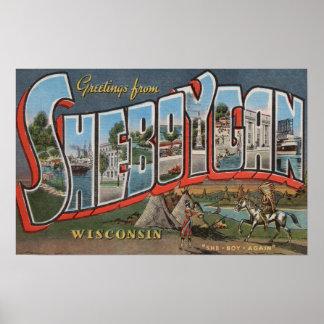 Sheboygan Wisconsin (indier nr. 1) Poster