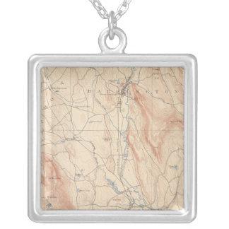 Sheffield Massachusetts Silverpläterat Halsband
