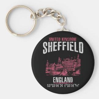 Sheffield Rund Nyckelring