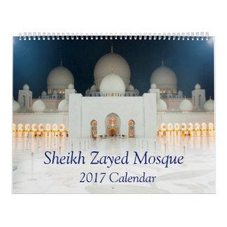 Sheikh Zayed Moské Kalender