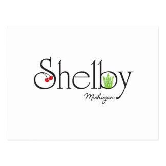 Shelby MI Vykort