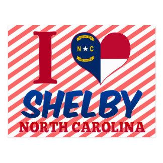 Shelby North Carolina Vykort