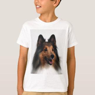 Sheltie T-tröjaför barn Tee Shirts