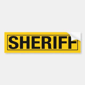 """SHERIFF "", BILDEKAL"