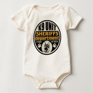 Sheriff för enhet K9 avdelning Body För Baby