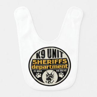 Sheriff för enhet K9 avdelning Hakklapp