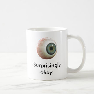 Sherlock förvånansvärt ok ögonglobmugg kaffemugg