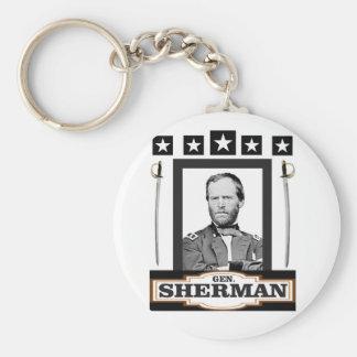sherman stjärnasvärd rund nyckelring