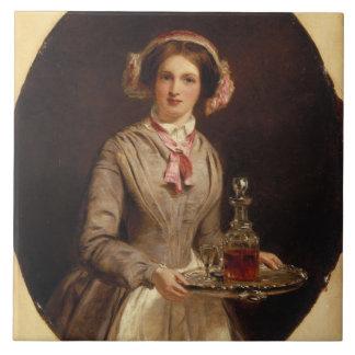 """Sherryherr? "" 1853 (olja på kanfas) Kakel"