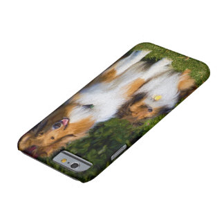 Shetland Collie och Collie Barely There iPhone 6 Fodral