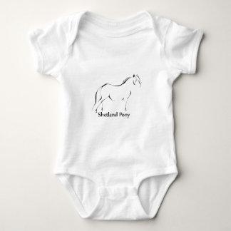 Shetland ponnydräkt tee shirt