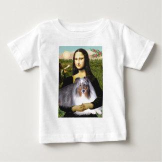 Shetland Sheepdog 17 - Mona Lisa T Shirts